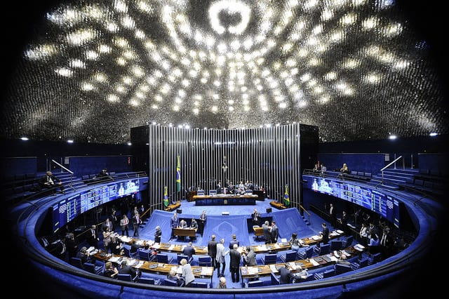 Em cerca de 30 minutos, Senado votou RenovaBio e a MP do Repetro (foto: Senado Federal)